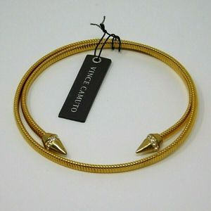 Vince Camuto Pointed Cuff Coil Bracelet/Necklace